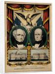 Van Buren Campaign Lithograph by Corbis