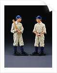 19th Century American Baseball Player Andirons by Corbis