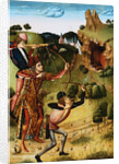 The Shooting of the Bull on Monte Gargano by the School of Fernando Gallego by Corbis