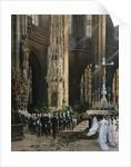 A Wedding, Jacobi Church, Nuremberg by Wilhelm Ritter