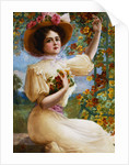A Summer Beauty by Emile Vernon