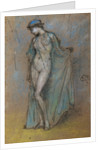 Female Nude with Diaphanous Gown by James Abbott McNeill Whistler
