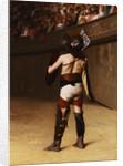 Mirmillon (A Gallic Gladiator) by Jean Leon Gerome
