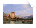 Angera, Lake Maggiore by George Clarkson Stanfield