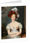 Portrait of Marie-Caroline, Duchesse de Berry by Sir Thomas Lawrence