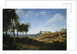 A Brazilian Landscape with a Sugar Mill by Frans Post