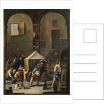 The Magic Lantern by School of Alessandro Magnasco