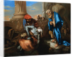 Tobit Burying the Dead in Defiance of the Orders of Sennacherib by Francesco Castiglione