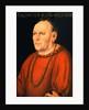Portrait of Sigmunt Kingsfelt, Half Length, Wearing a Red Costume by Lucas Cranach I