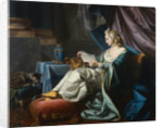 A Young Sultan Reading a Letter by Louis-Michel van Loo