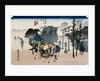 Mishima from the series The Fifty-Three Stations of the Tokaido by Utagawa Hiroshige