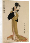 Full-Length Portrait of the Actor Segawa Kikunojo in the Female Role of Ohama by Utagawa Toyokuni