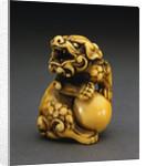 An Ivory Netsuke, Edo Period (18th Century) Signed Mitsuharu by Corbis
