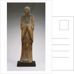 Antique Japanese Wood Figure of a Shinto Goddess by Corbis