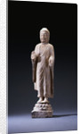 A Marble Standing Figure of Buddha, Northern Qi Dynasty by Corbis