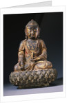 A Bronze Figure of Buddha. Ming Dynasty by Corbis