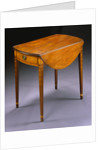 Federal Inlaid Mahogany Pembroke Table attributed to William Whitehead by Corbis