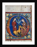 Capture of a Unicorn An Initial Upper Rhine, Diocese of Constance by Corbis
