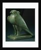 A Chlorite Falcon Amulet. Late Period, Dynasty XXVI-XXX (664-343 B.C.) by Corbis