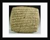 Assyrian Cuneiform Tablet from a Merchant Colony by Corbis