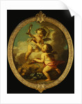 An Allegory of Love: Putti Disporting in a Landscape by Etienne Jeaurat