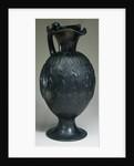 An Etruscan Bucchero Oinchoe, Circa Early 6th Century B.C. by Corbis