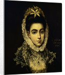 Portrait of a Young Lady by El Greco