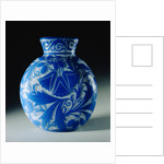Overlaid, Etched and Polished Glass Vase by Daum