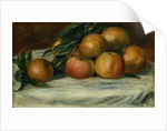 Still Life With Apples and Oranges by Pierre Auguste Renoir