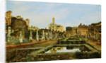 The House of the Vestal Virgins, Rome by Josef Theodor Hansen