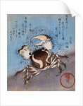 A Crab on the Seashore by Utagawa Kunisada