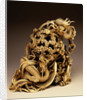 An Ivory Carving of Dragons. 19th Century by Corbis