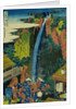 Roben Waterfall of Oyama in Sagami Province, from the Series A Journey to the Waterfalls of All the Provinces by HOKUSAI