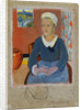 Breton Serving Girl or Maid by Paul Serusier