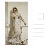 A Classical Beauty by Alcide Theophile Robaudi