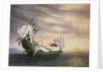 Fairies Floating Downstream in a Peapod by Amelia Jane Murray