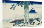 Mishima Pass in Kai Province, from the Series Thrity-Six Views of Mount Fuji by Katsushika Hokusai