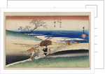 At Yase Village, from the Series Famous Places of Kyoto by Utagawa Hiroshige
