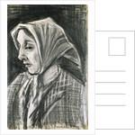 Sien: Facing Left by Vincent Van Gogh