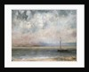 Clouds on Lake Leman by Gustave Courbet