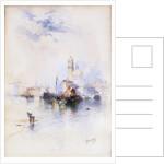 Venice (Watercolor) by Thomas Moran