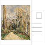 Chimney at the Entrance to the Forest by Paul Cezanne