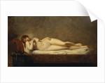 Psyche Asleep by Anne-Louis Girodet de Roucy-Trioson