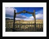 Gate To Historical Pioneer Cemetery by Corbis