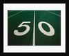 50-Yard Line of Football Field by Corbis
