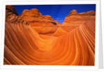Coyote Butte's Sandstone Stripes by Corbis