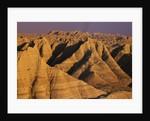 Badlands at Sunset by Corbis