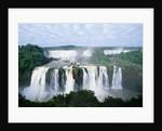 Iguazu Waterfalls in South America by Corbis