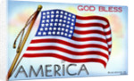God Bless America Postcard by Corbis