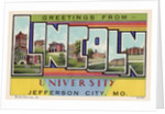 Greeting Card from Lincoln University by Corbis